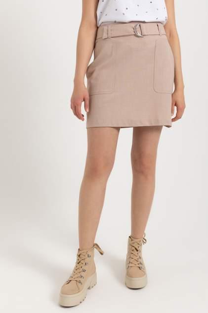 Женская юбка Sela 804011901, бежевый