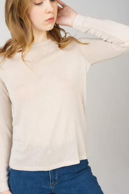 Джемпер женский Vero Moda 10208552 бежевый XL