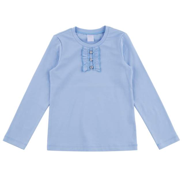 Блузка детская Leader Kids, цв.голубой