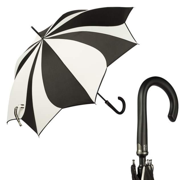 Зонт-трость женский полуавтоматический Pierre Cardin 82267-LA белый/черный