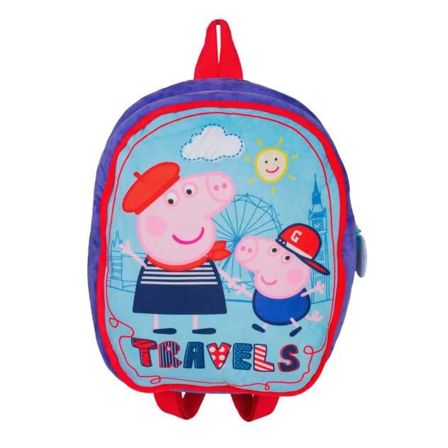 Рюкзак детский Peppa Pig дошкольный синий