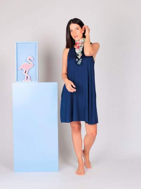 Домашнее платье женское HayS 30596-B116 синее M