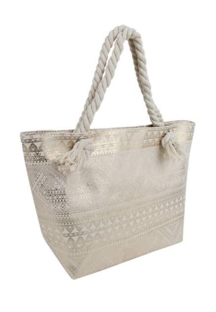 Пляжная сумка женская Daniele Patrici A40981 золотистая