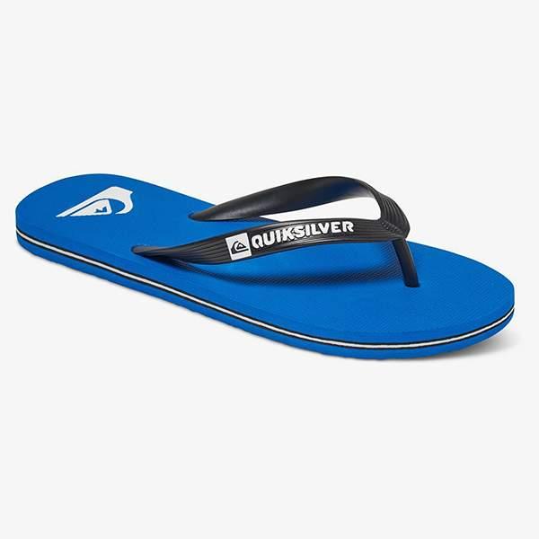 Мужские сланцы Molokai Quiksilver, синий, 8 US