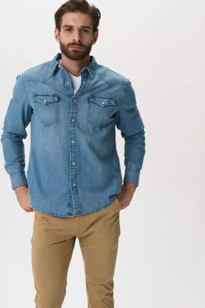Джинсовая рубашка мужская Levi's 8574400010 синяя 52