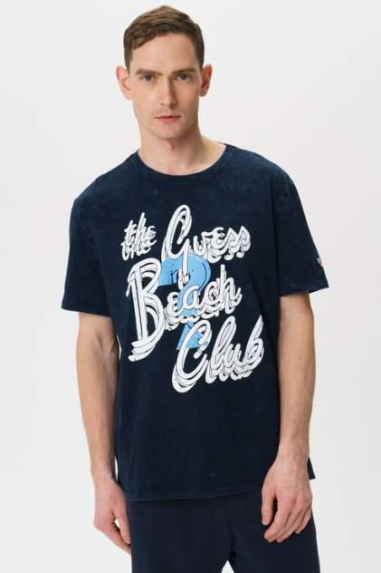 Футболка мужская Guess M0GI10I3Z00 синяя XL