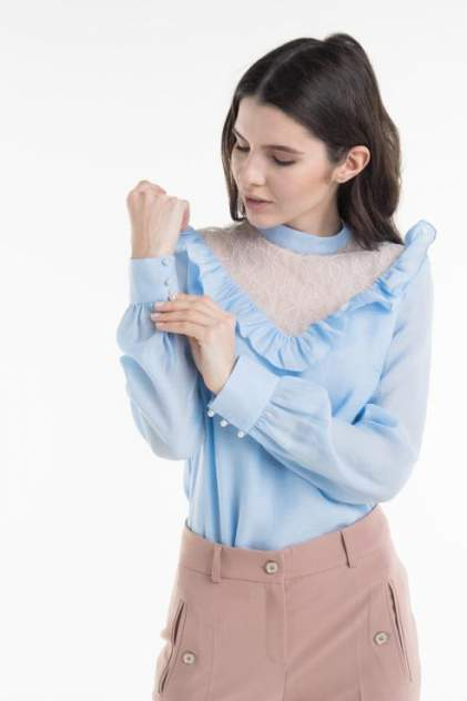 Женская блуза T-Skirt AW18-05-0558-FS, голубой