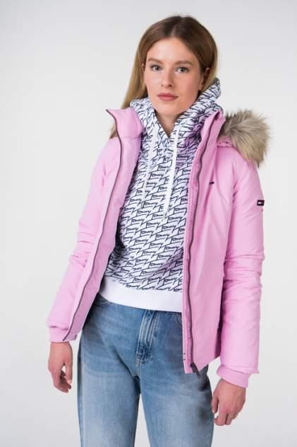 Куртка женская Tommy Hilfiger DW0DW05161 розовая XS