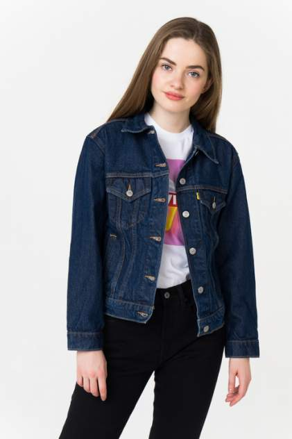 Джинсовая куртка женская Levi's 2994400690 синяя 40