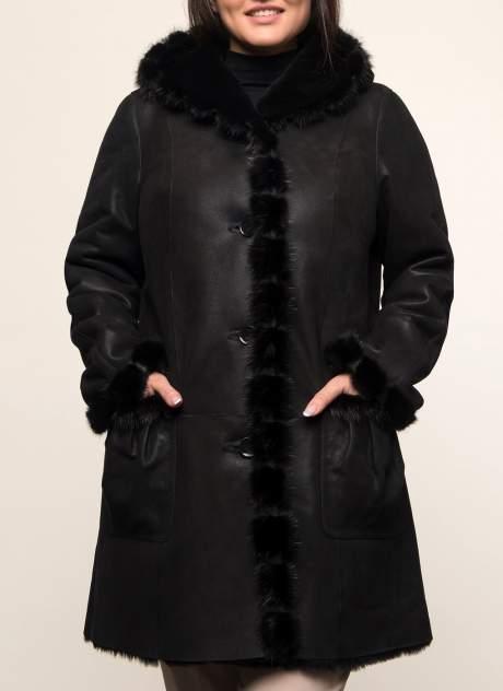 Дубленка женская КАЛЯЕВ 44733 черная 56 RU