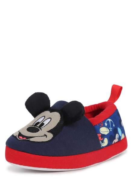 Тапочки детские Mickey Mouse, цв. синий р.28
