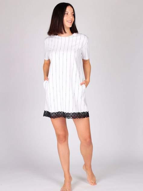 Домашнее платье женское HayS 30574-B115 белое M