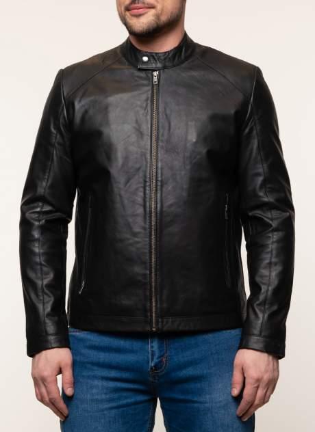 Куртка кожаная мужская Gotthold 45359 черная 52 RU