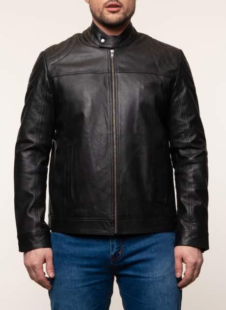 Куртка кожаная мужская Gotthold 45358 черная 58 RU