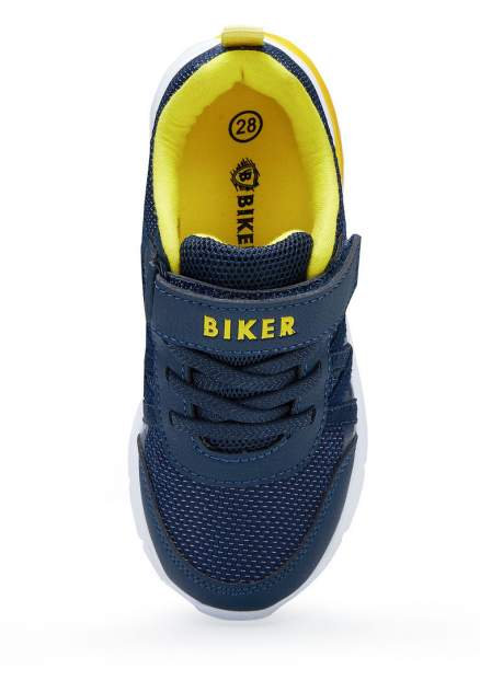 Кроссовки детские Biker, цв. синий р.27