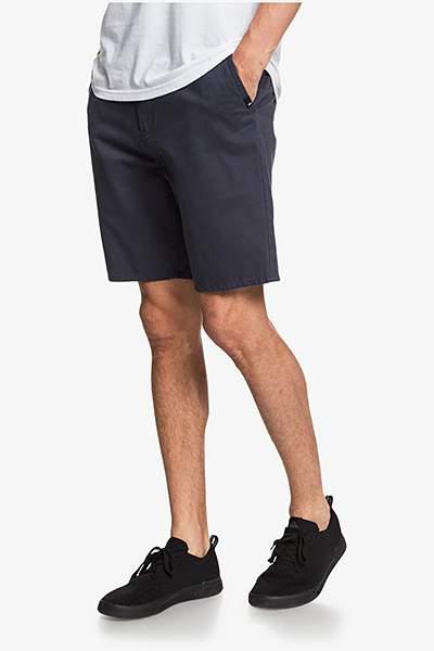 Шорты мужские Quicksilver Everyday Chino Light Short, черный