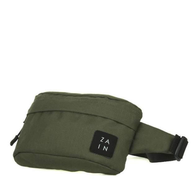 Поясная сумка ZAIN Z1023 темно-зеленая