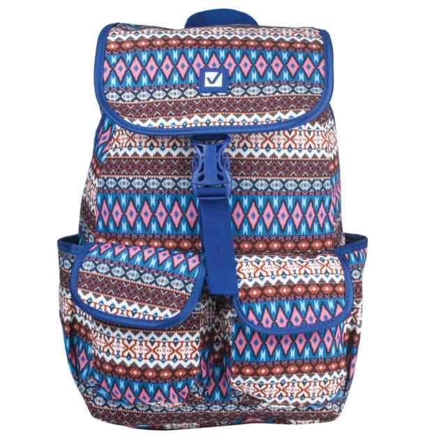 Рюкзак женский Brauberg 227075 синий