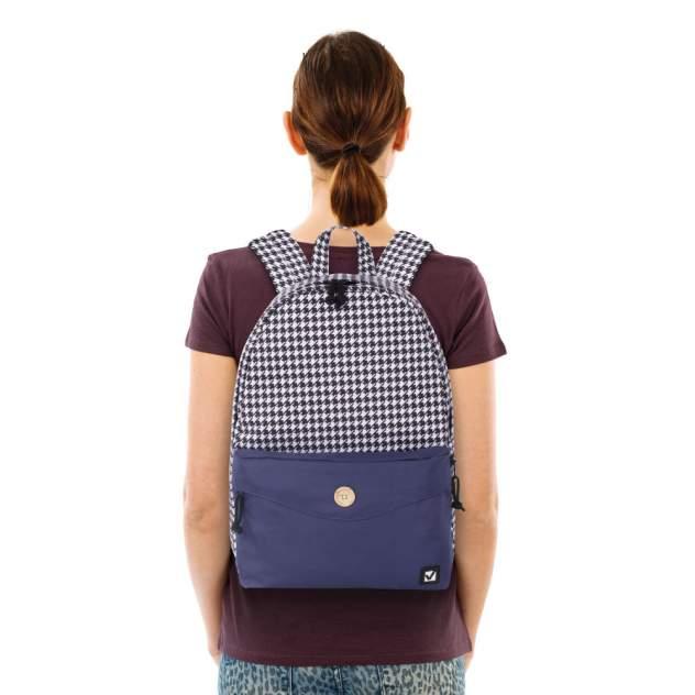 Рюкзак женский Brauberg 228840 бело-синий