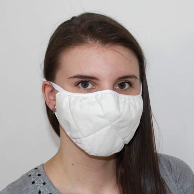 Многоразовая защитная маска EcoSapiens ES-601 белая 1 шт.