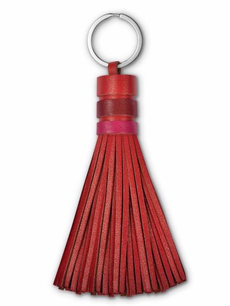 Брелок женский Woodsurf TASSEL красный