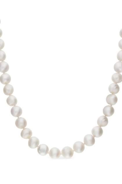 Колье женское серебряное SUNLIGHT S90301-H0W-01 с жемчугом