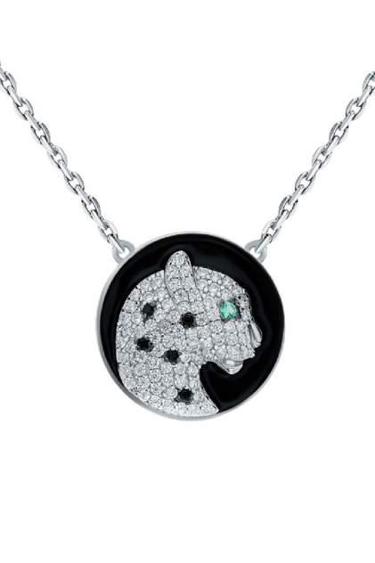 Колье женское серебряное SUNLIGHT S69126-H9W-01 с фианитом