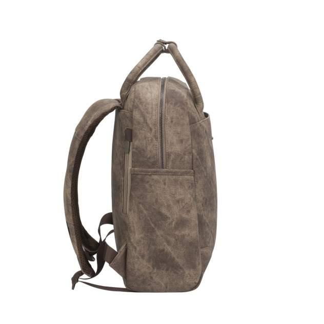 Сумка-рюкзак женская RIVACASE 8925 бежевая средняя