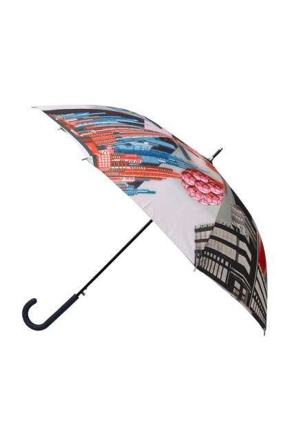 Зонт-трость женский полуавтоматический Eleganzza Т-05-0496D-07 серый
