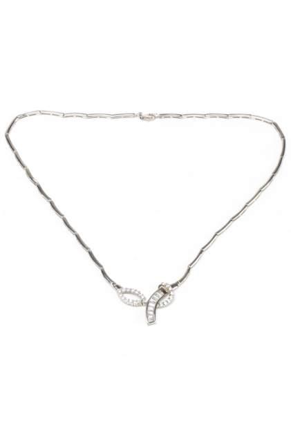 Колье женское серебряное YOUKON MN 0007