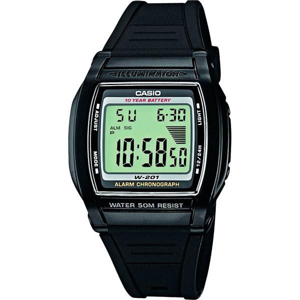 Наручные часы электронные мужские Casio Collection W-201-1AVEG