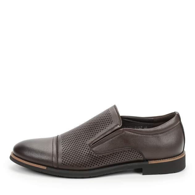 Туфли мужские INSTREET 98-01MV-937SS коричневые 47 RU