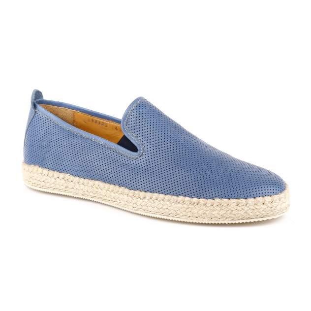 Слипоны мужские Gianfranco Butteri 62723-B синие 43 RU