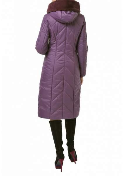 Пуховик-пальто женский DizzyWay 19303 фиолетовый 58 RU