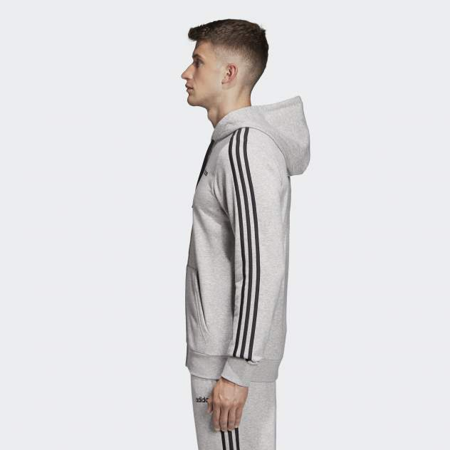 Худи мужское Adidas DU0473 серое XL