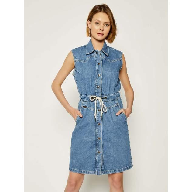Женское платье Lee L50HGAZE, голубой