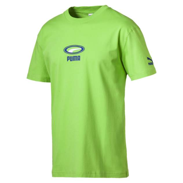 Футболка PUMA 84452702, зеленый