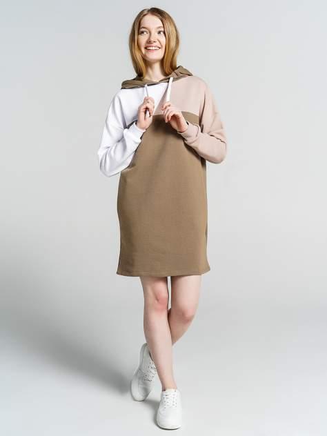 Платье женское ТВОЕ 78167 коричневое S