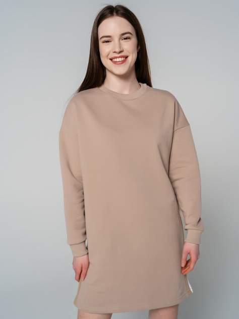 Платье женское ТВОЕ 79887 бежевое M