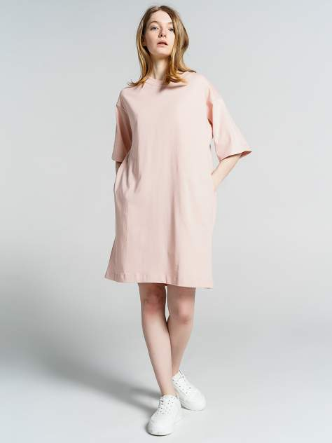 Платье женское ТВОЕ 81293 розовое M