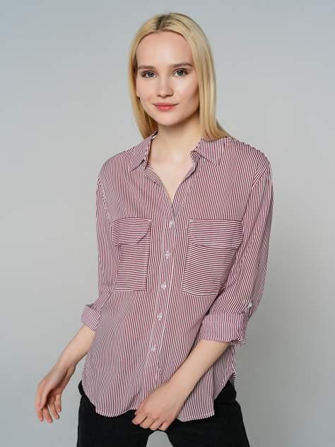 Женская рубашка ТВОЕ A7700, бордовый