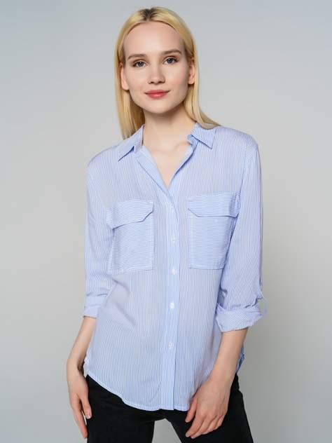 Женская рубашка ТВОЕ A7700, голубой