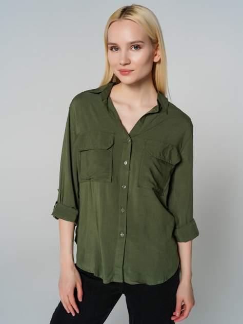 Женская рубашка ТВОЕ A7702, хаки