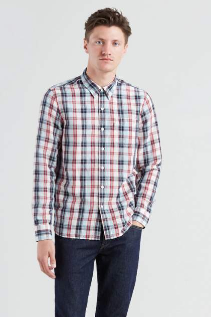 Рубашка мужская Levi's 6582404130 разноцветная 50