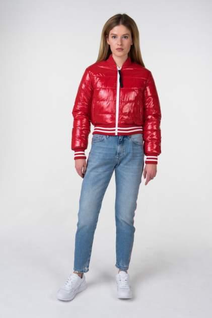 Куртка женская Tommy Hilfiger DW0DW05585 красная XS