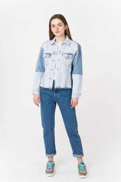Джинсовая куртка женская Levi's 7273600000 синяя XS