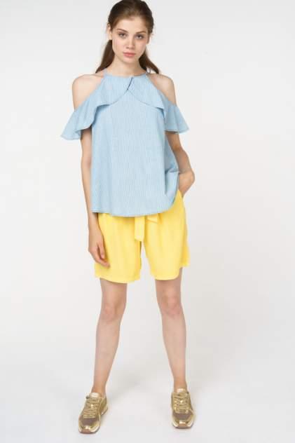 Блуза женская Vero Moda 10211807 голубая XS