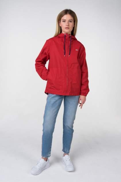 Ветровка женская Tommy Hilfiger DW0DW05601 красная XS