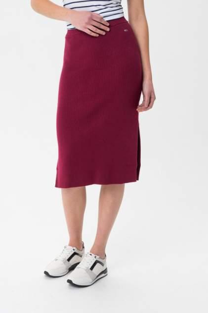 Женская юбка Tommy Hilfiger DW0DW07362, красный