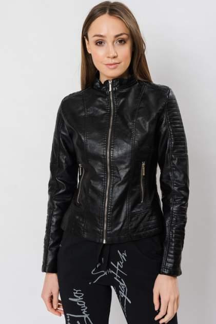 Кожаная куртка женская ELARDIS El_W60074 черная XS